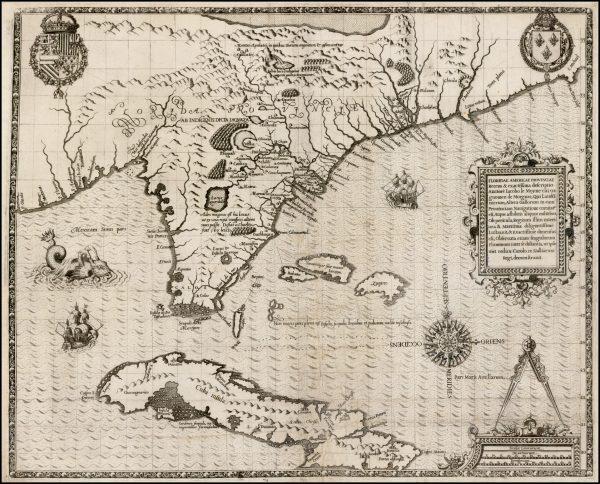 Floridae Americae Provinciae Recens & exactissima descriptio Auctore