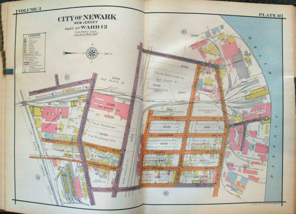 Robinson's Atlas of the City of Newark New Jersey - 1927 ... on map of foxborough, map of area code 973, map of university heights, map of ventnor, map of holland twp, map of st.charles, map of atlantic city, map of mcclellan, map of colonia, map of tuckerton, map of new weston, map of spencerport, map of rt 6, map of mullica hill, map of noble county, map of oak hill, map of west windsor, map of carlstadt, map of girard, map of null,